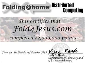 Folding at Home Score